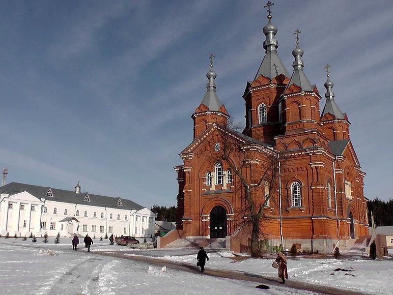 Богородице-Тихоновский (Тюнинский) монастырь в Задонске