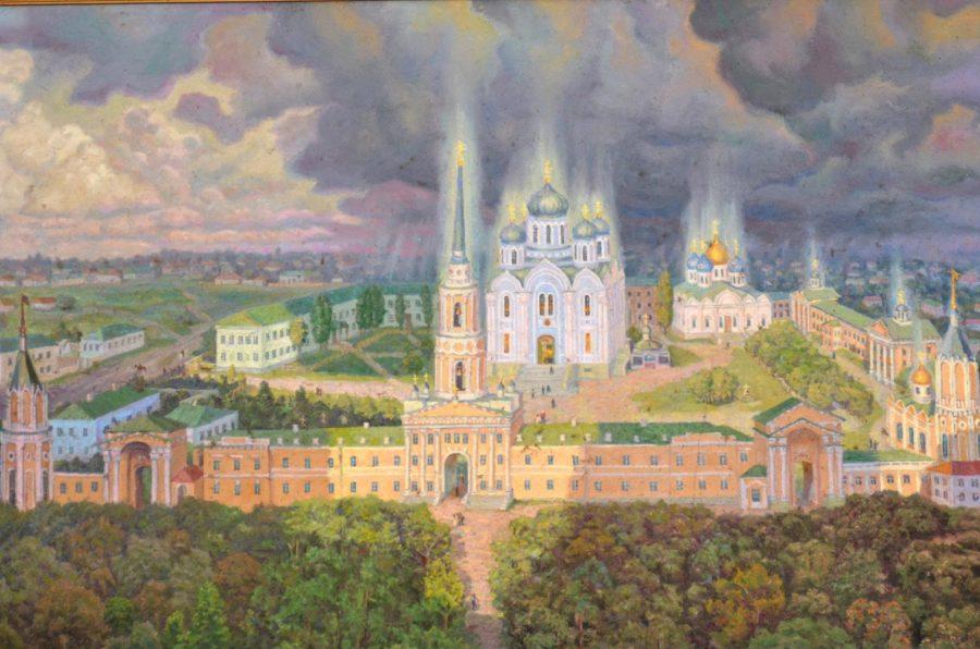 становление Задонского Рождество-Богородицкого монастыря